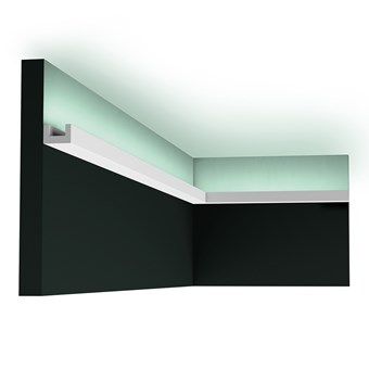 Orac CX190 LED Linear Multifunctional U-Profile Cornice