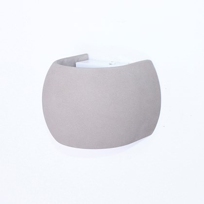 Seed Design Castle Round LED IP65 Concrete Wall Light - Next Day Delivery