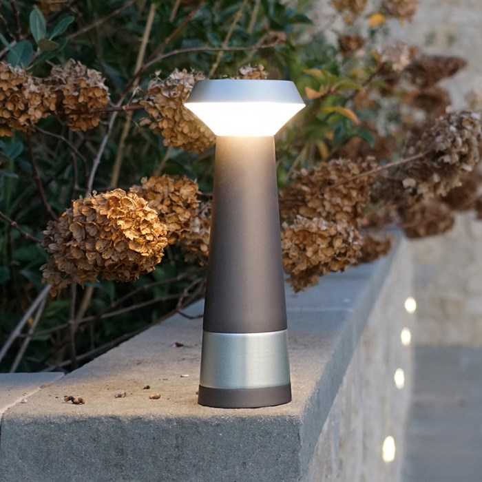 Puraluce Pharo Portable Cordless LED Outdoor Table Lamp| Image : 1