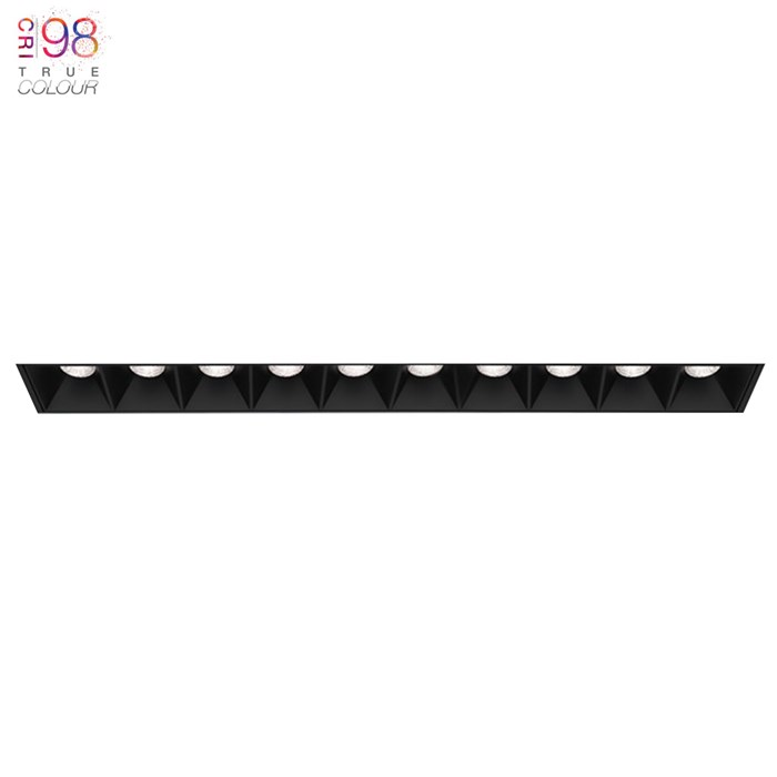 DLD Surf 10 LED Plaster In Recessed Downlight| Image : 1