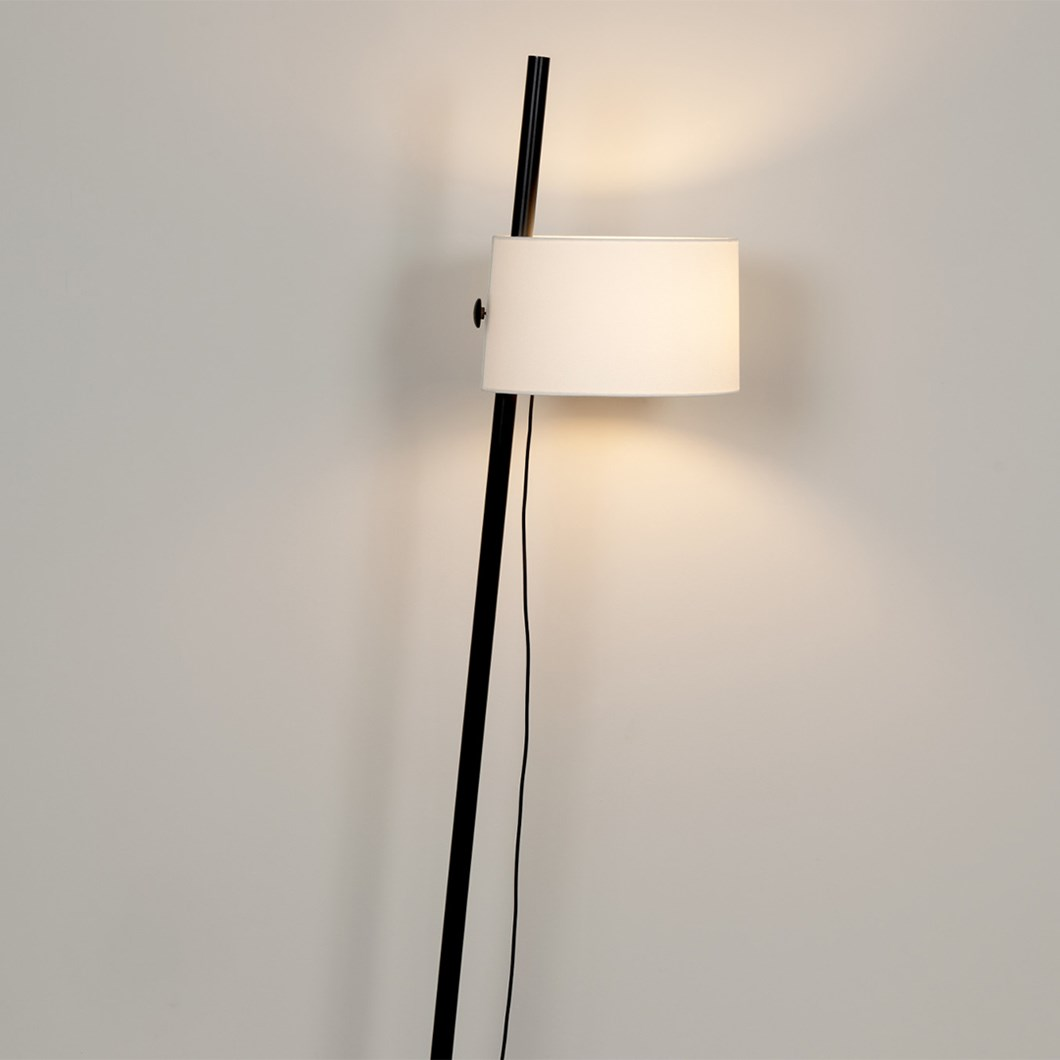 Free standing floor lamp by Milan Iluminacion with 1 shade
