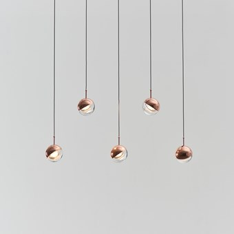 Seed Design Dora PL5 LED Copper Pendant