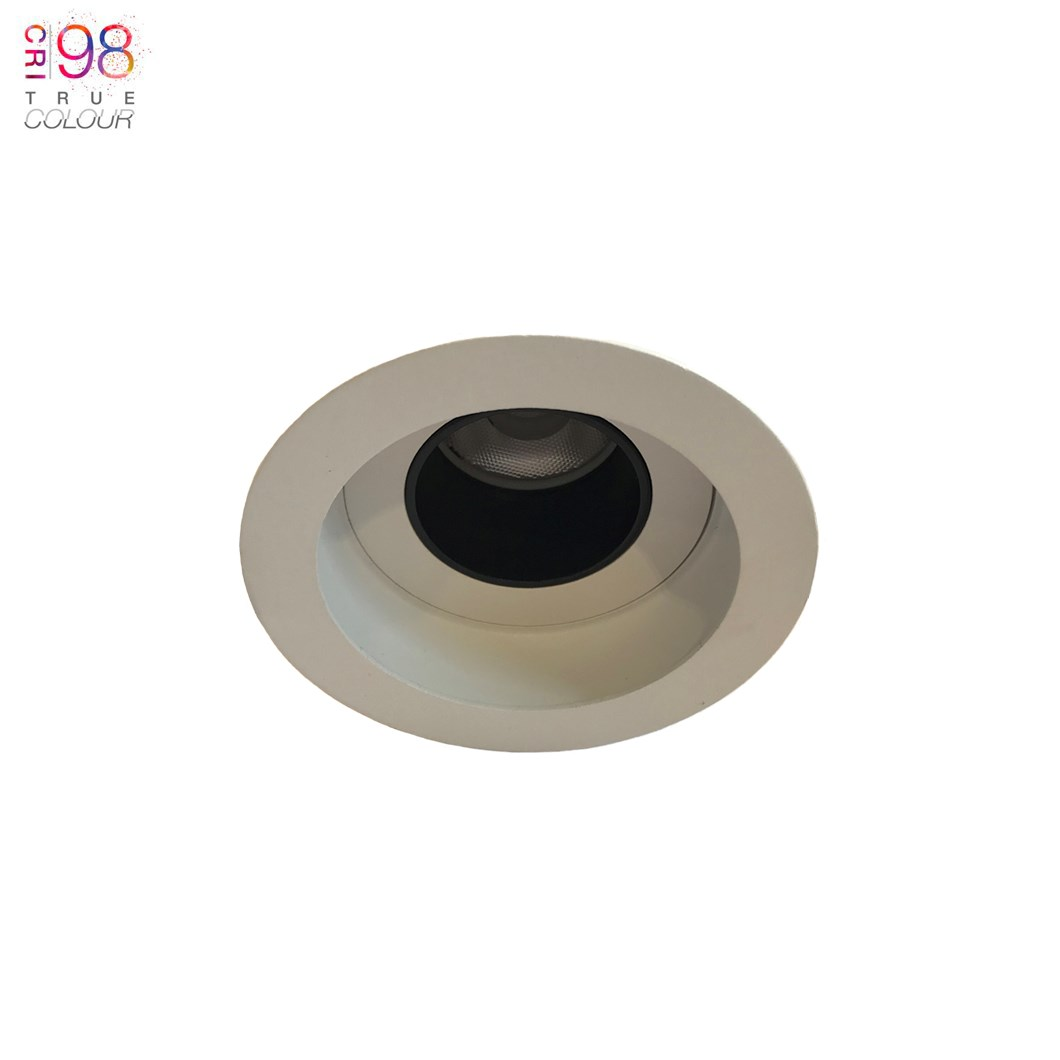 DLD Andes 1-R True Colour CRI98 LED Fixed Recessed Downlight - Next Day Delivery| Image : 1