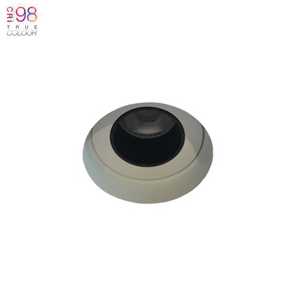 DLD Andes 1-R True Colour CRI98 LED Fixed Plaster In Downlight - Next Day Delivery
