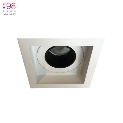 DLD Andes 1-S True Colour CRI98 LED Fixed Recessed Downlight - Next Day Delivery