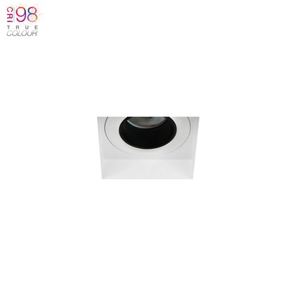 DLD Andes Mini 1-S True Colour CRI98 LED IP65 Fixed Plaster In Downlight - Next Day Delivery