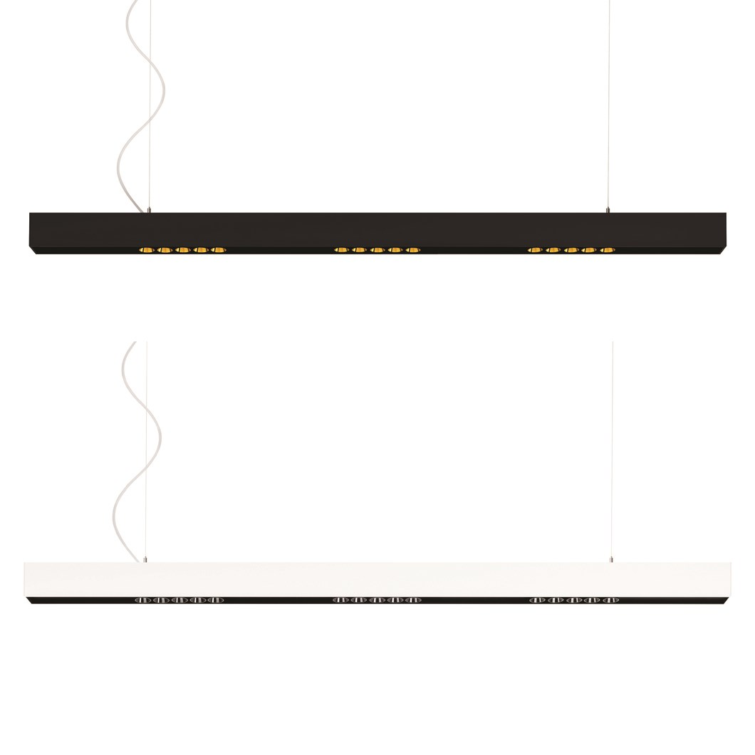 Arkoslight Black Foster LED Pendant| Image:1