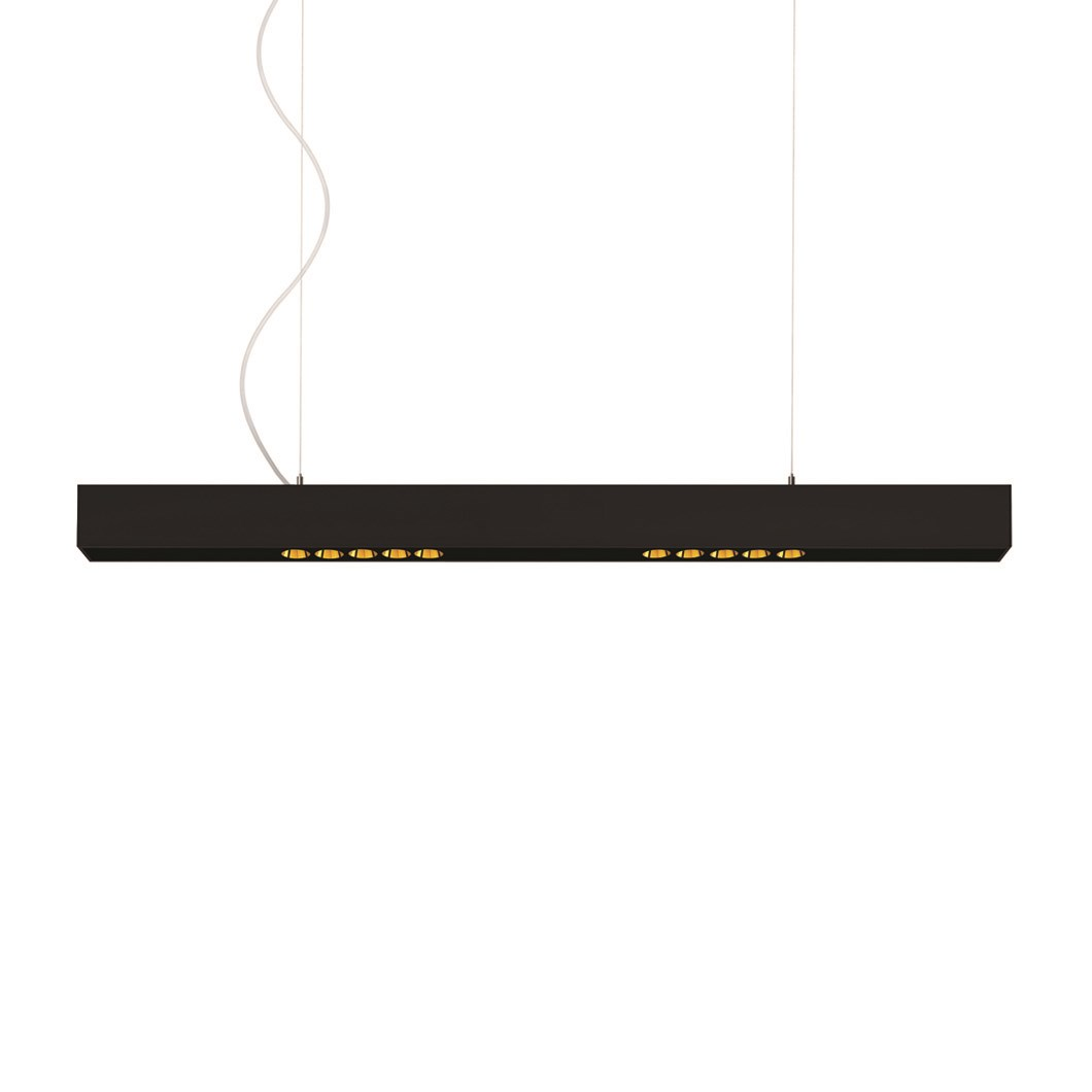 Arkoslight Black Foster LED Pendant| Image : 1