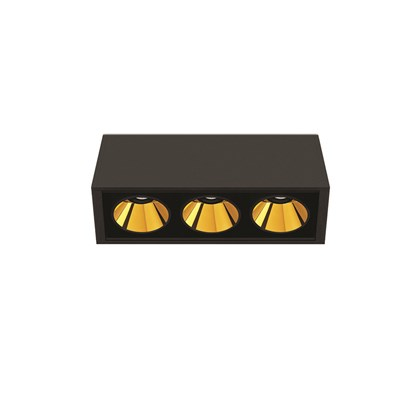 Arkoslight Black Foster LED Ceiling Light