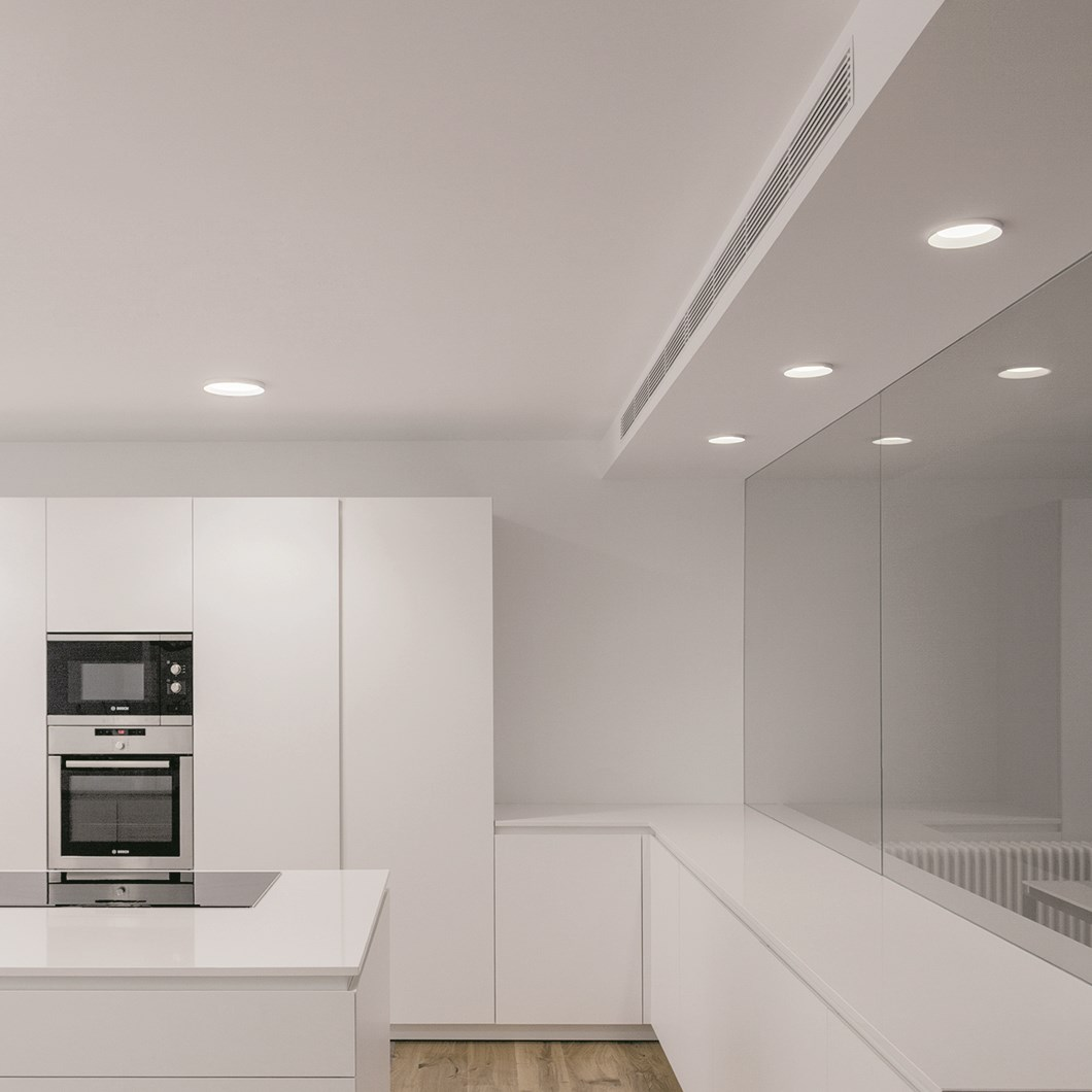 Arkoslight Stram LED Semi-Recessed Downlight| Image:1
