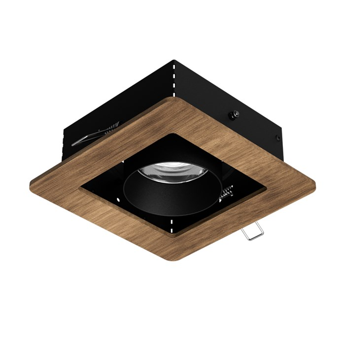 Setup Lighting Wood Cardanic Adjustable Eco-Friendly LED Recessed Spotlight| Image : 1