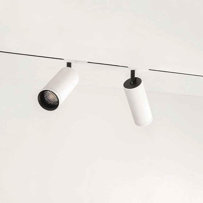 Arkoslight Linear 1L Flush Recessed Mounted 230V Modular Track System Components| Image : 1