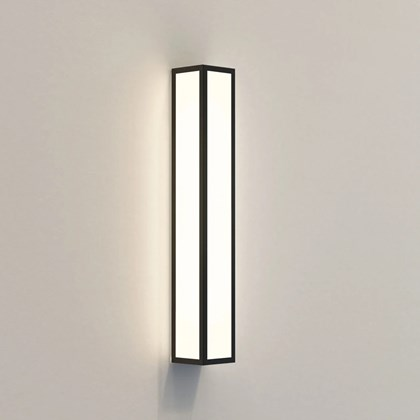 CLEARANCE Astro Light Salerno 520 LED Black Wall Light