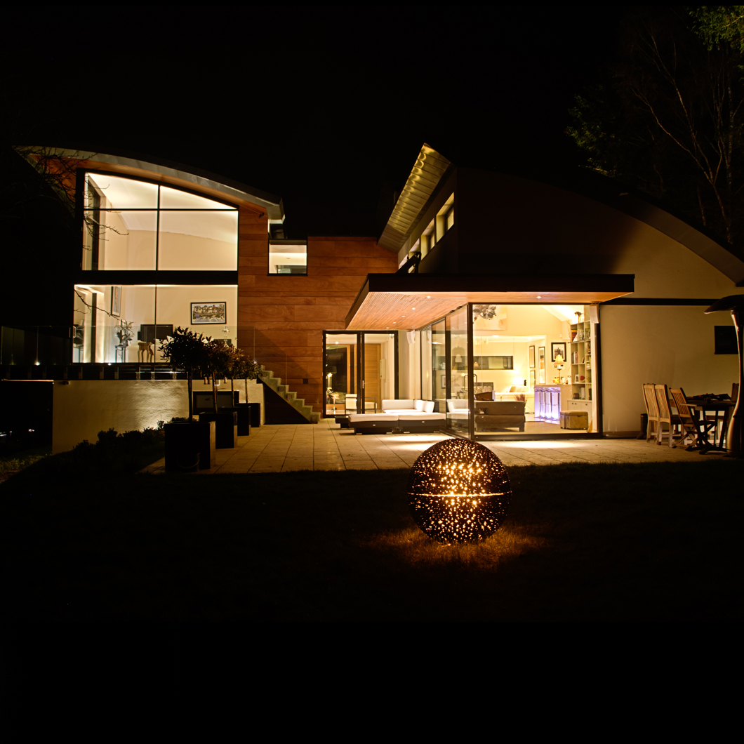 Interior and exterior designer lighting solutions