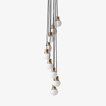&Tradition Mass Light NA6 9 Cluster Pendant