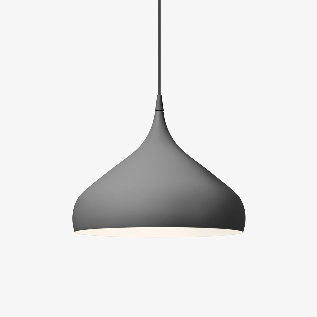 CLEARANCE &Tradition Spinning BH2 Dark Grey Pendant| Image : 1