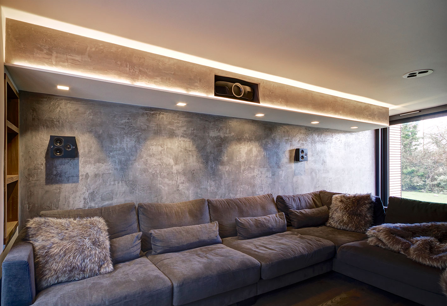 Image Of Lighting Design U2013 Home Cinema Lighting