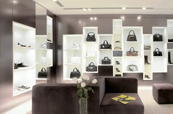 Commercial Lighting Design - Handbag Boutique - image 4